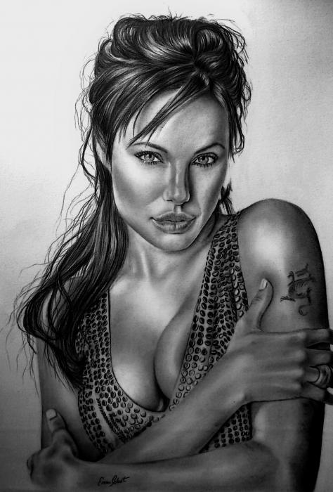 Angelina Jolie by ercansebat